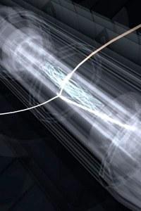 """Mai mult decât de a face antihidrogenul mai ușor de studiat, noua tehnică de răcire ar putea ajuta la reținerea acestuia în capcană un interval mai mare de timp. În 2011, cercetătorii de la laboratorul european de fizică CERN au reușit să mențină antimateria activă în """"capcană"""" timp de 16 minute, realizând un record.  Credit: Chukman So"""